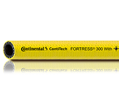 Continental ContiTech 3//4 X 50 Yellow Fortress 300 Wash-Down Hose w//Microban Cover